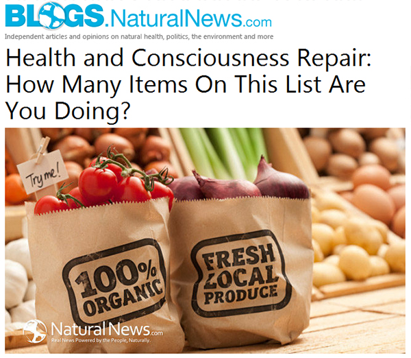 Natural News Blog